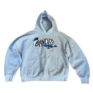 Bandits Print Pullover Hoodie size S-L